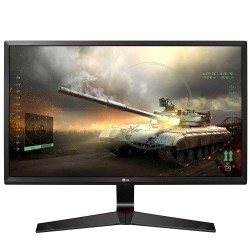 LG 27 inch 68.58 cm Gaming LED Backlit Computer Monitor Full HD IPS Panel with VGA, HDMI, Display, Audio Out, Heaphone Ports  27MP59G