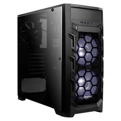 Antec Mid-Tower Case GX202 Blue 2 * 120 MM Led Cooler