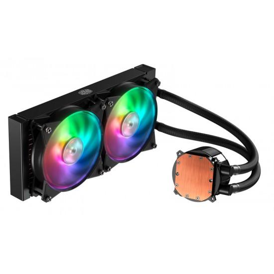 Cooler Master CPU Liquid Cooler ML240R RGB MLX-D24M-A20PC-R1 Deltapage.com