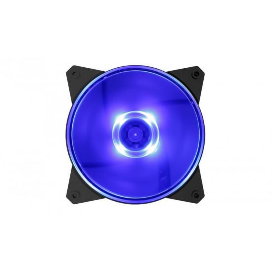 Cooler Master Case Cooler MF120L Blue LED R4-C1DS-12FB-R1 Deltapage.com