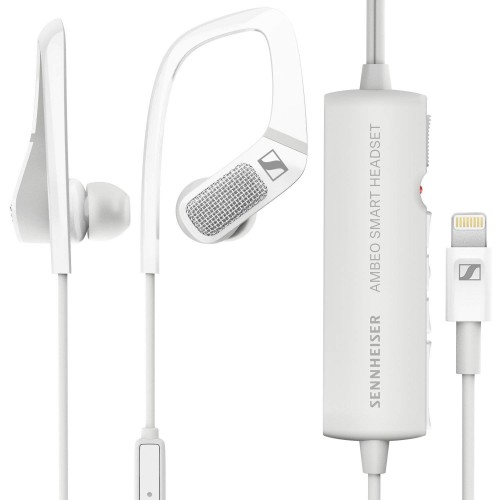 Sennheiser AMBEO Smart Headset (W) Mobile Binaural Recording Headset With Mic