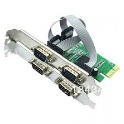 4 Port Serial PCI Express Card