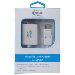 Cadyce DisplayPort to VGA Adapter CA-DPVGA