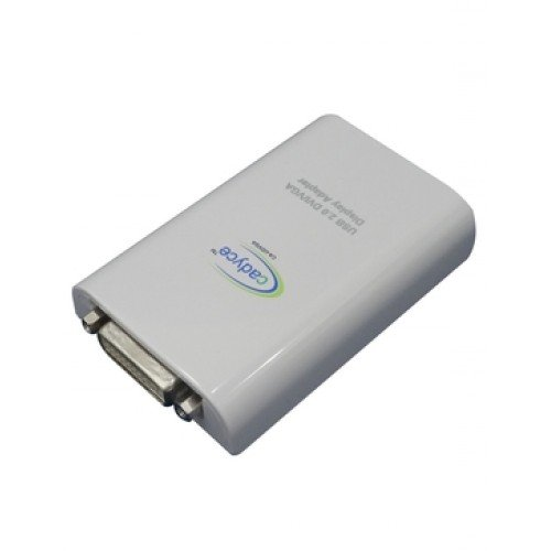 Cadyce USB 2.0 DVI/VGA Display Adapter (Supports up to 1080p (Full HD)) (Supports for Mac O/S) CA-UDVGA Deltapage.com