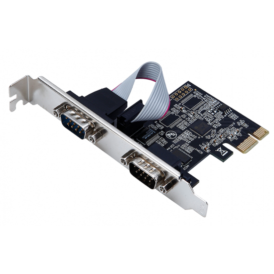 2 Port Serial PCI Express Card Deltapage.com